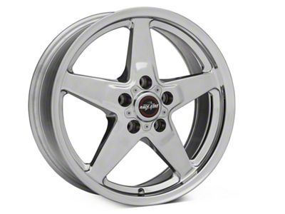 Race Star Drag Star Polished Wheel - Direct Drill - 17x7 - Front Only (87-93 w/ 5 Lug Conversion)