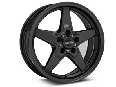 Race Star Drag Star Dark Star Wheel - Direct Drill - 17x7 - Front Only (87-93 w/ 5 Lug Conversion)