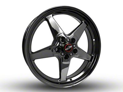 Race Star Dark Star Drag Wheel - 18x5 - Front Only (15-19 GT, EcoBoost, V6)