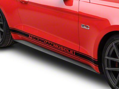 Ford Rocker Molding Panel - Passenger Side (15-19 GT, EcoBoost, V6)