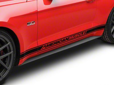 Ford Rocker Molding Panel - Driver Side (15-19 GT, EcoBoost, V6)