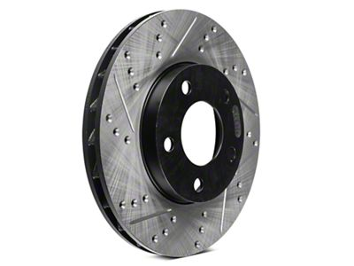 StopTech Sport Cross-Drilled & Slotted Rotors - Front Pair (94-04 GT, V6)