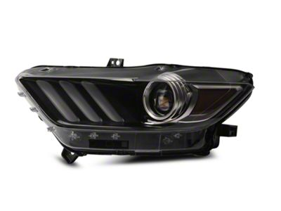 Ford Factory Replacement HID Headlight - Driver Side (15-17 All; 18-19 GT350)