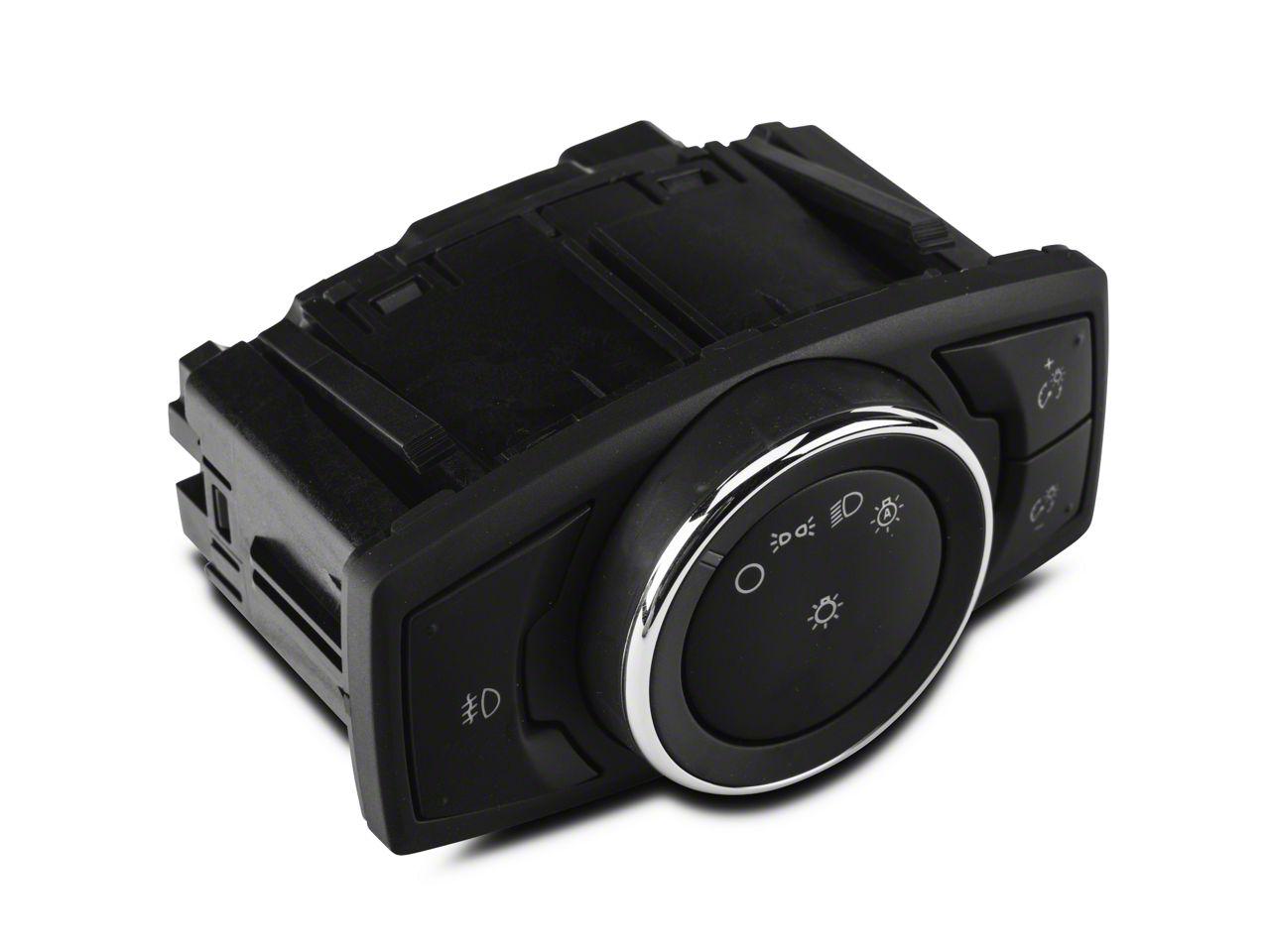Ford Headlight Light Switch w/ Fog Lights (15-19 All)