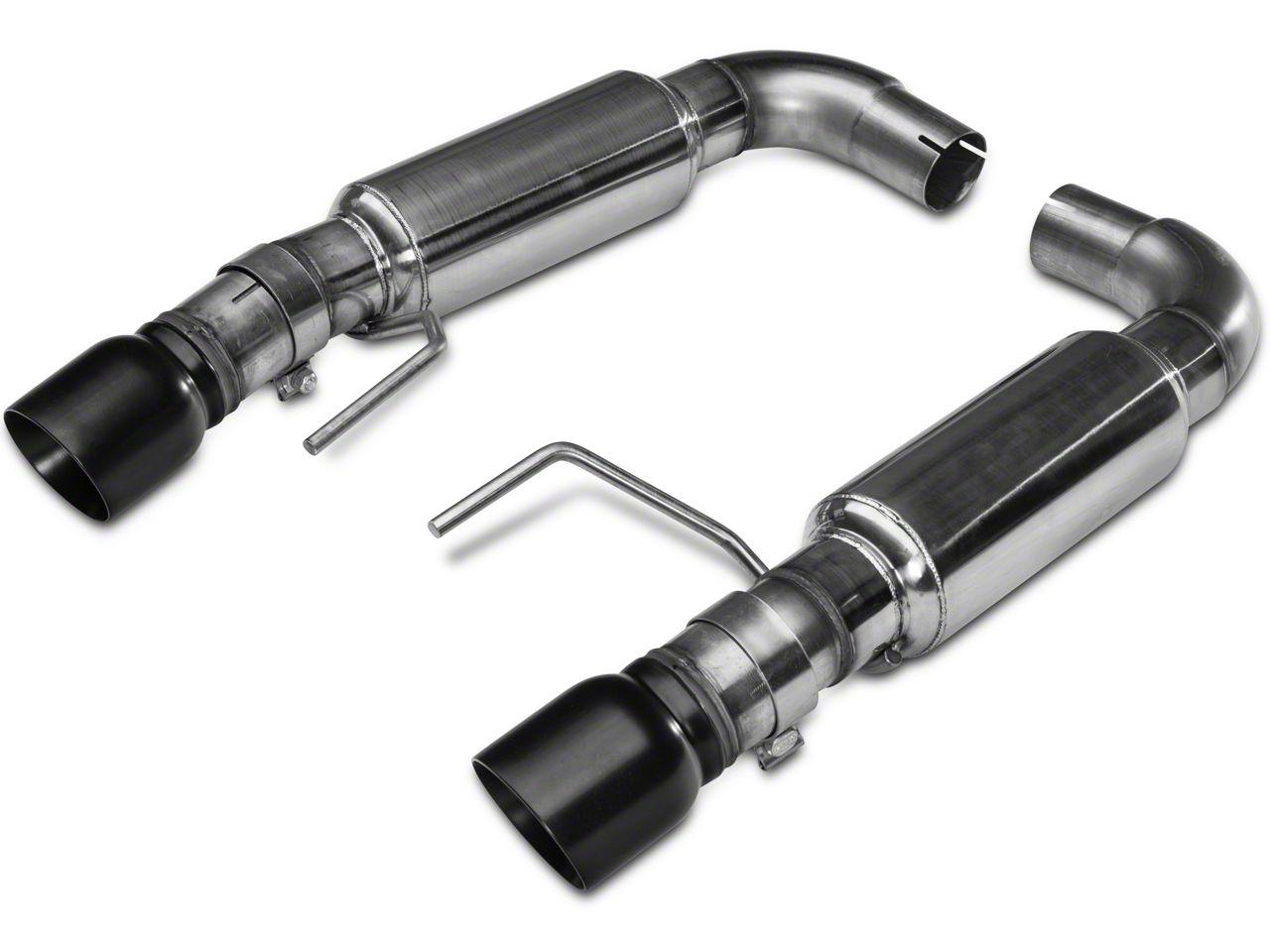 Kooks Axle-Back Exhaust - Black Tips (15-17 GT Fastback)