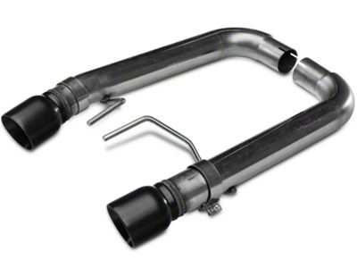 Kooks Muffler Delete Axle-Back Exhaust w/ Black Tips (15-17 GT Fastback)