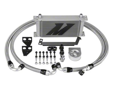 Mishimoto Performance Oil Cooler - Silver (15-19 EcoBoost)
