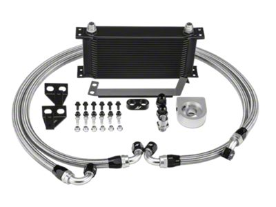 Mishimoto Performance Oil Cooler - Black (15-19 EcoBoost)