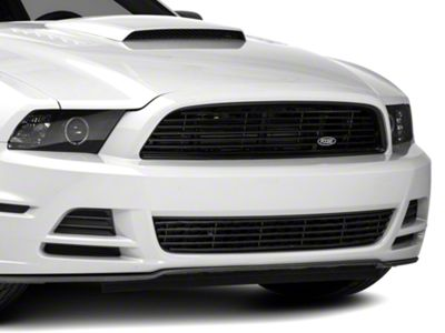 MMD by FOOSE Billet Upper Replacement Grille - Black (13-14 GT)