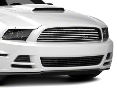 MMD by FOOSE Billet Upper Replacement Grille - Polished (13-14 GT)