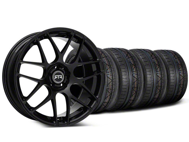 RTR Black Wheel & Sumitomo Tire Kit - 20x9 (05-14 All)