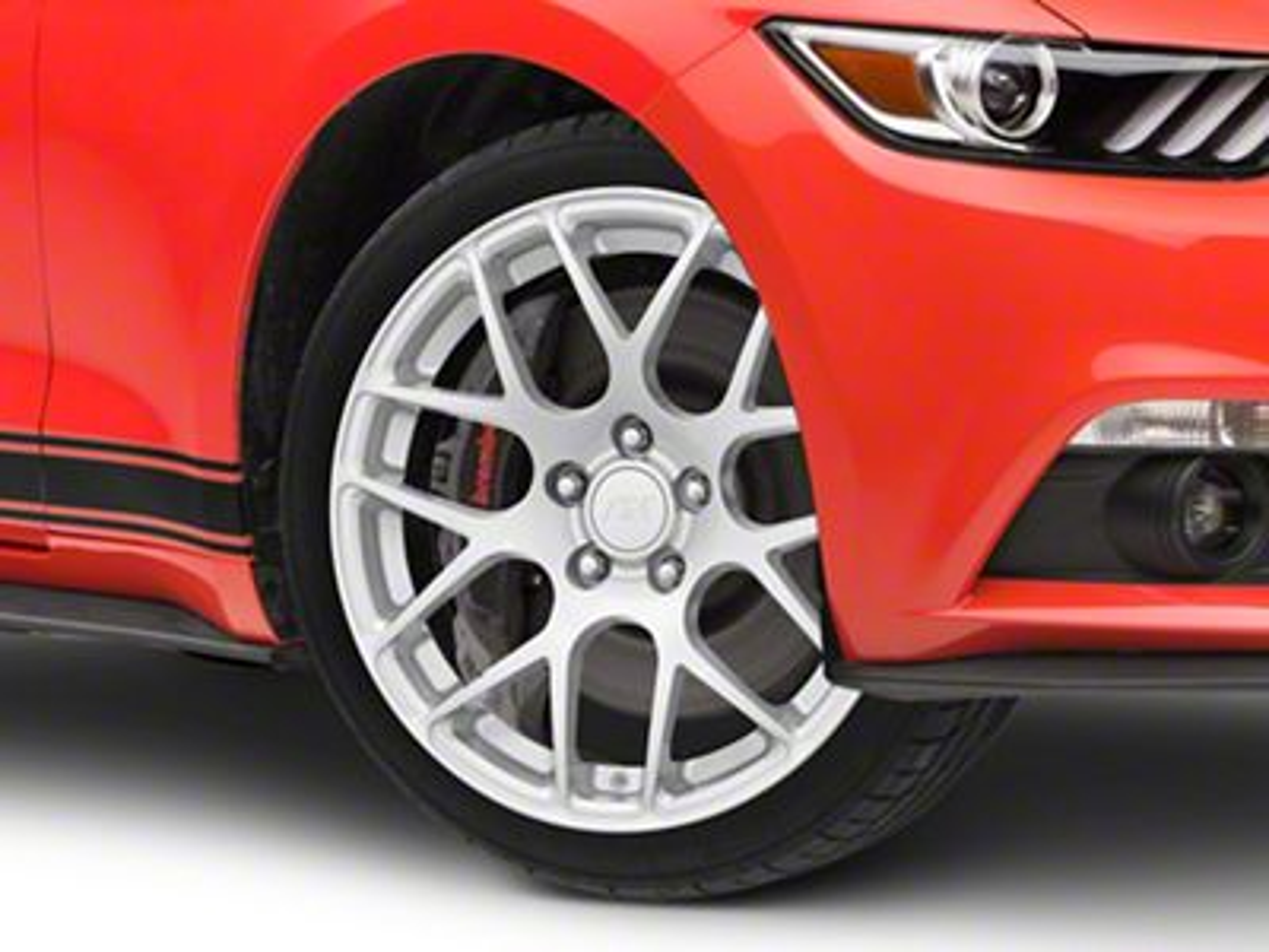 AMR Silver Wheel - 18x9 (15-19 EcoBoost, V6)