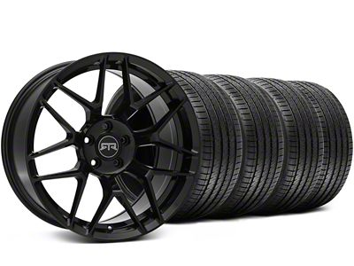 RTR Tech 7 Black Wheel & Sumitomo Tire Kit - 20x9.5 (05-14 All)