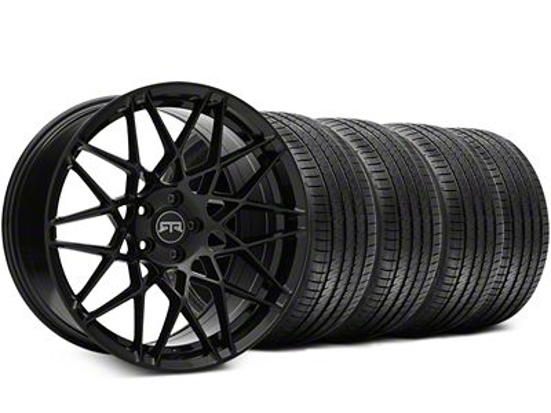 RTR Tech Mesh Black Wheel & Sumitomo Tire Kit - 20x9.5 (05-14 All)