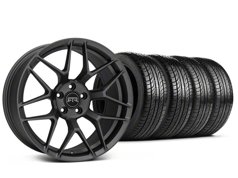 RTR Tech 7 Charcoal Wheel & Pirelli Tire Kit - 19x9.5 (15-19 GT, EcoBoost, V6)