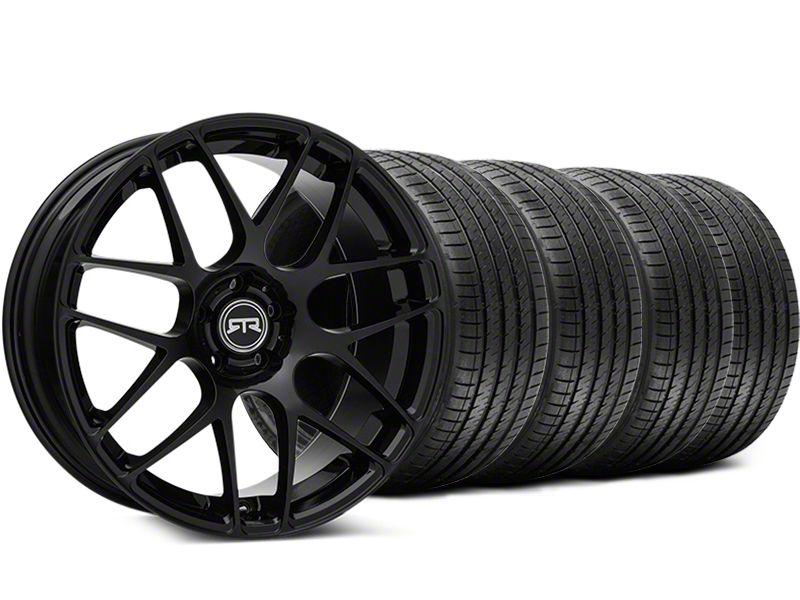 RTR Black Wheel & Sumitomo Tire Kit - 19x9.5 (15-19 GT, EcoBoost, V6)