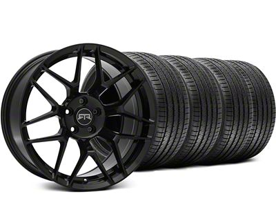 RTR Tech 7 Black Wheel & Sumitomo Tire Kit - 19x9.5 (15-19 GT, EcoBoost, V6)