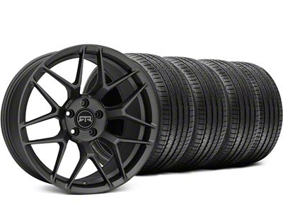 RTR Tech 7 Charcoal Wheel & Sumitomo Tire Kit - 19x9.5 (15-19 GT, EcoBoost, V6)