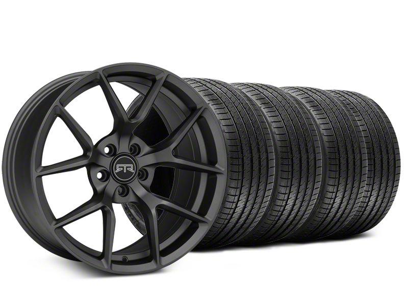 RTR Tech 5 Charcoal Wheel & Sumitomo Tire Kit - 19x9.5 (15-19 GT, EcoBoost, V6)
