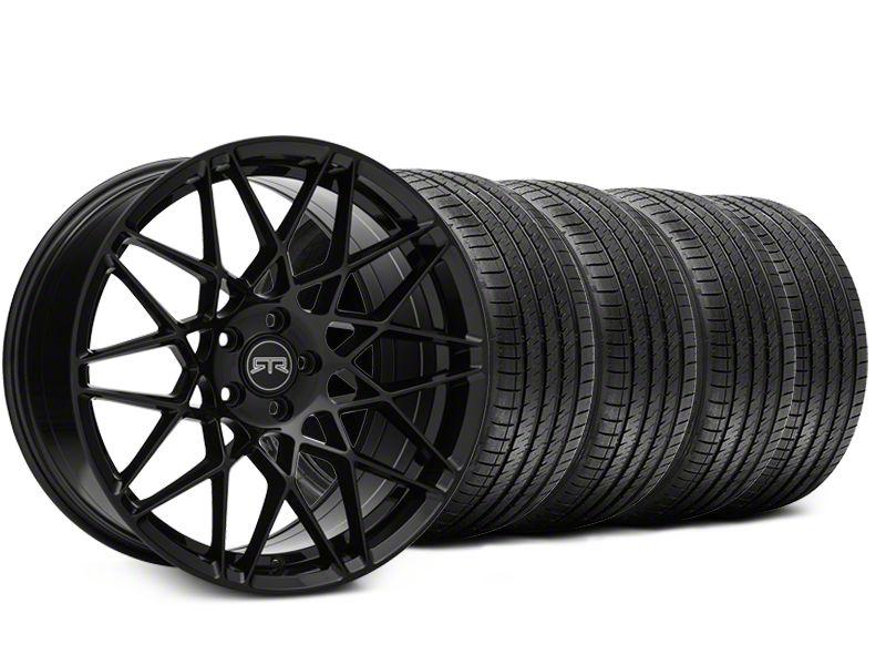 RTR Tech Mesh Black Wheel & Sumitomo Tire Kit - 19x9.5 (15-19 GT, EcoBoost, V6)