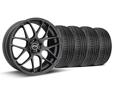 RTR Charcoal Wheel & Sumitomo Tire Kit - 19x8.5 (15-19 GT, EcoBoost, V6)