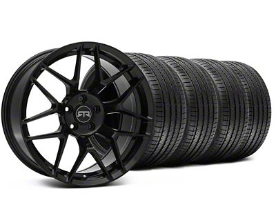 RTR Tech 7 Black Wheel & Sumitomo Tire Kit - 20x9.5 (15-19 GT, EcoBoost, V6)