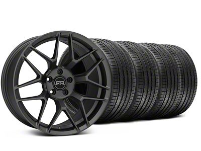 RTR Tech 7 Charcoal Wheel & Sumitomo Tire Kit - 20x9.5 (15-19 GT, EcoBoost, V6)
