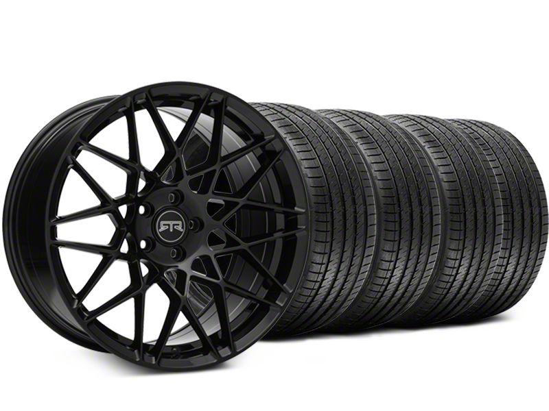 RTR Tech Mesh Black Wheel & Sumitomo Tire Kit - 20x9.5 (15-19 GT, EcoBoost, V6)