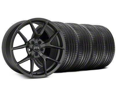 Staggered RTR Tech 5 Charcoal Wheel & Sumitomo Tire Kit - 20x9.5/10.5 (05-14 All)