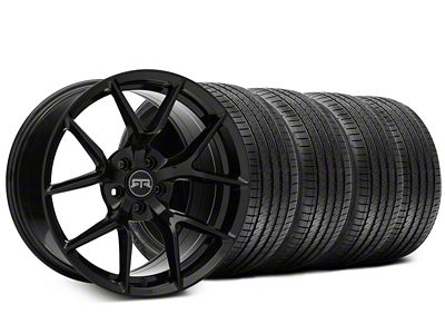 Staggered RTR Tech 5 Black Wheel & Sumitomo Tire Kit - 20x9.5/10.5 (15-19 All)