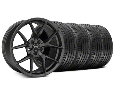 Staggered RTR Tech 5 Charcoal Wheel & Sumitomo Tire Kit - 20x9.5/10.5 (15-19 All)