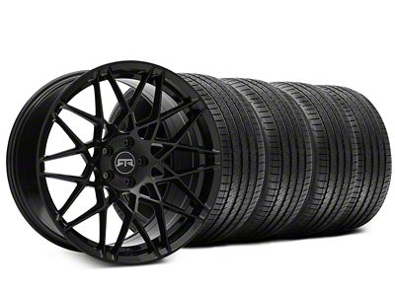 Staggered RTR Tech Mesh Black Wheel & Sumitomo Tire Kit - 20x9.5/10.5 (15-19 All)