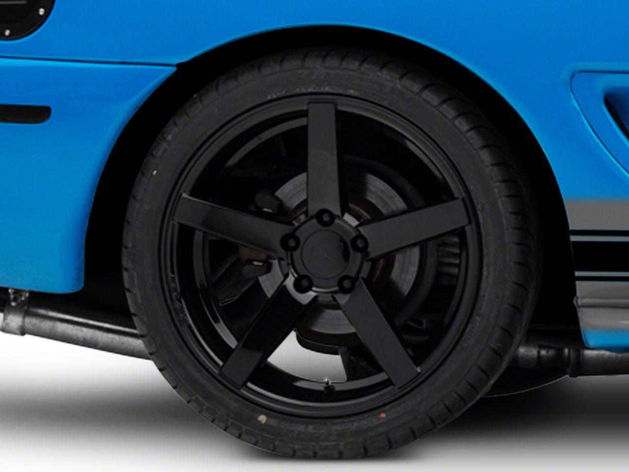 Rovos Durban Gloss Black Wheel - 18x10.5 - Rear Only (94-04 All)