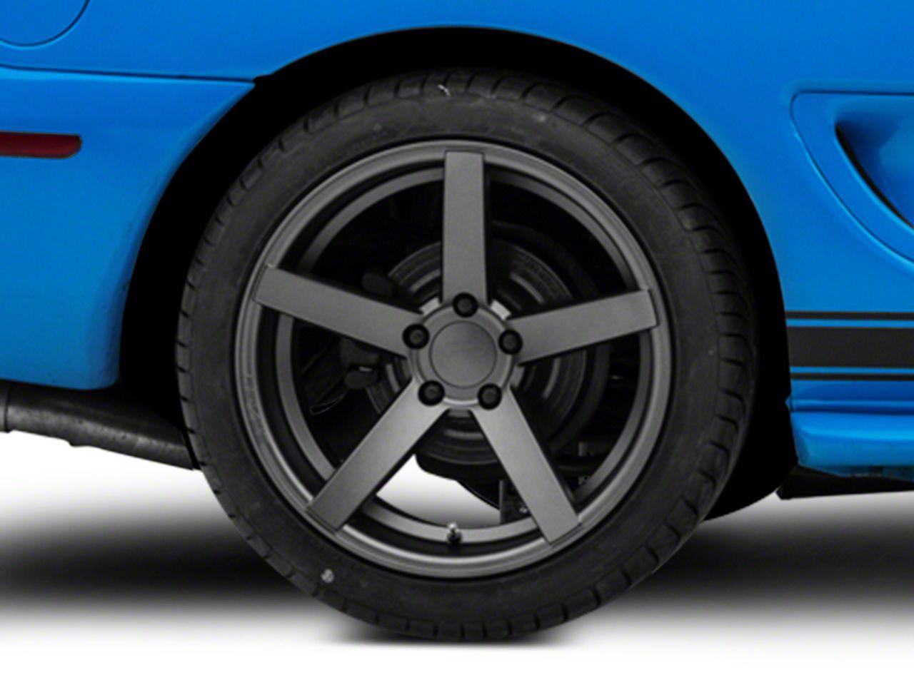 Rovos Durban Gunmetal Wheel - 18x10.5 - Rear Only (94-04 All)
