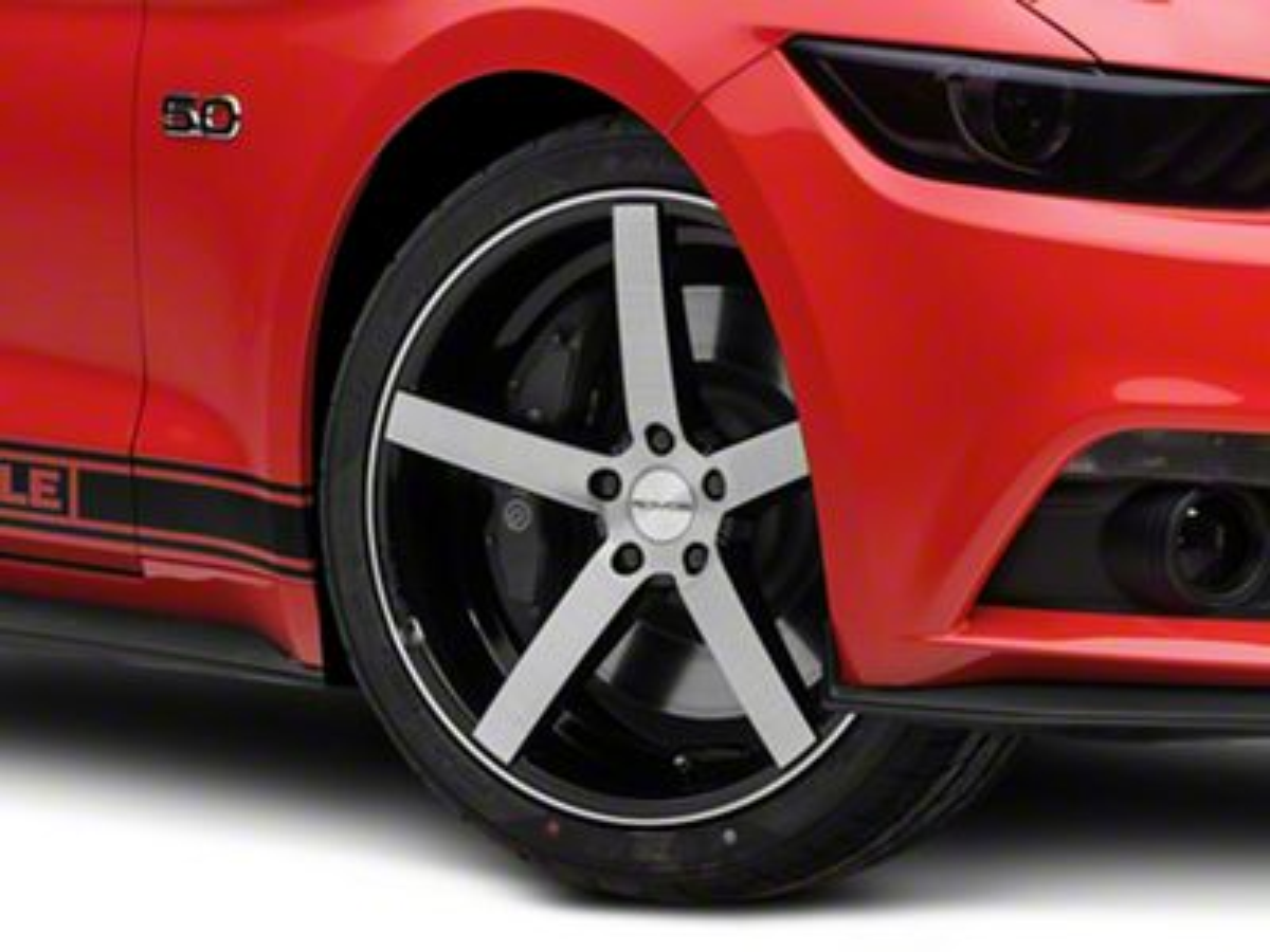 Rovos Durban Brushed Black Wheel - 20x8.5 (15-19 GT, EcoBoost, V6)