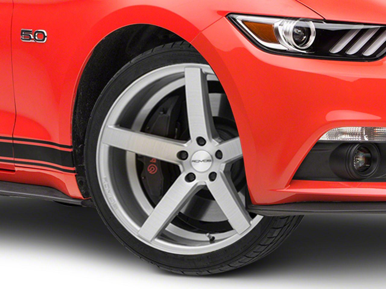 Rovos Durban Brushed Silver Wheel - 20x8.5 (15-19 GT, EcoBoost, V6)
