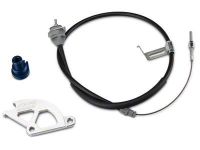 BBK Adjustable Clutch Cable, Quadrant & Firewall Adjuster Kit (79-95 5.0L)