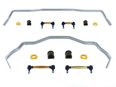 Whiteline Heavy Duty Adjustable Front & Rear Sway Bars (15-19 All)