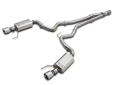 Kooks Cat-Back Exhaust w/ Y-Pipe (15-19 EcoBoost Fastback w/ Kooks Down Pipe)