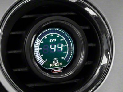 Dual Color Oil Pressure Digital Gauge - Electrical - Green/White (79-19 All)