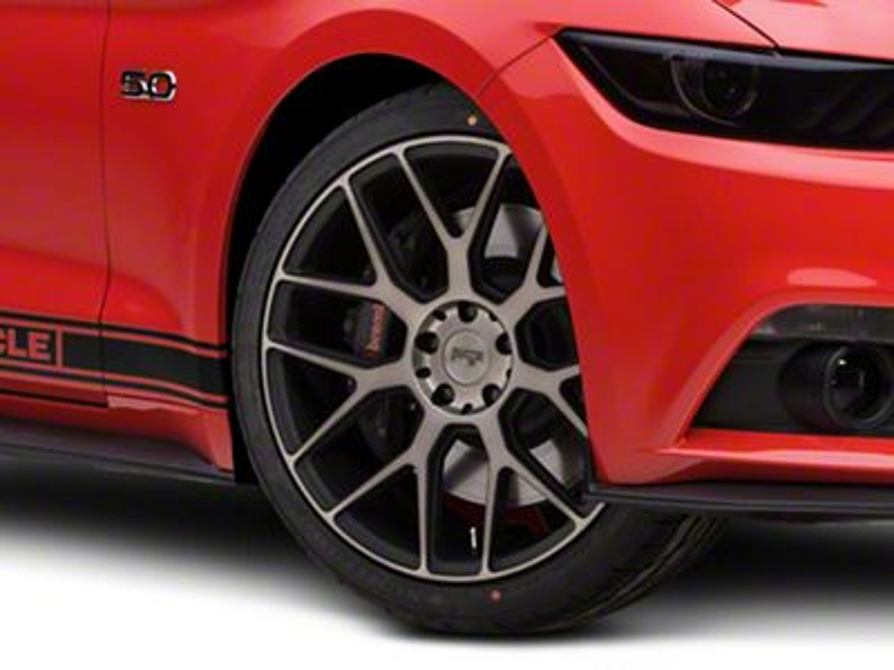 Niche Intake Black Machined Wheel - 20x9 (15-19 GT, EcoBoost, V6)