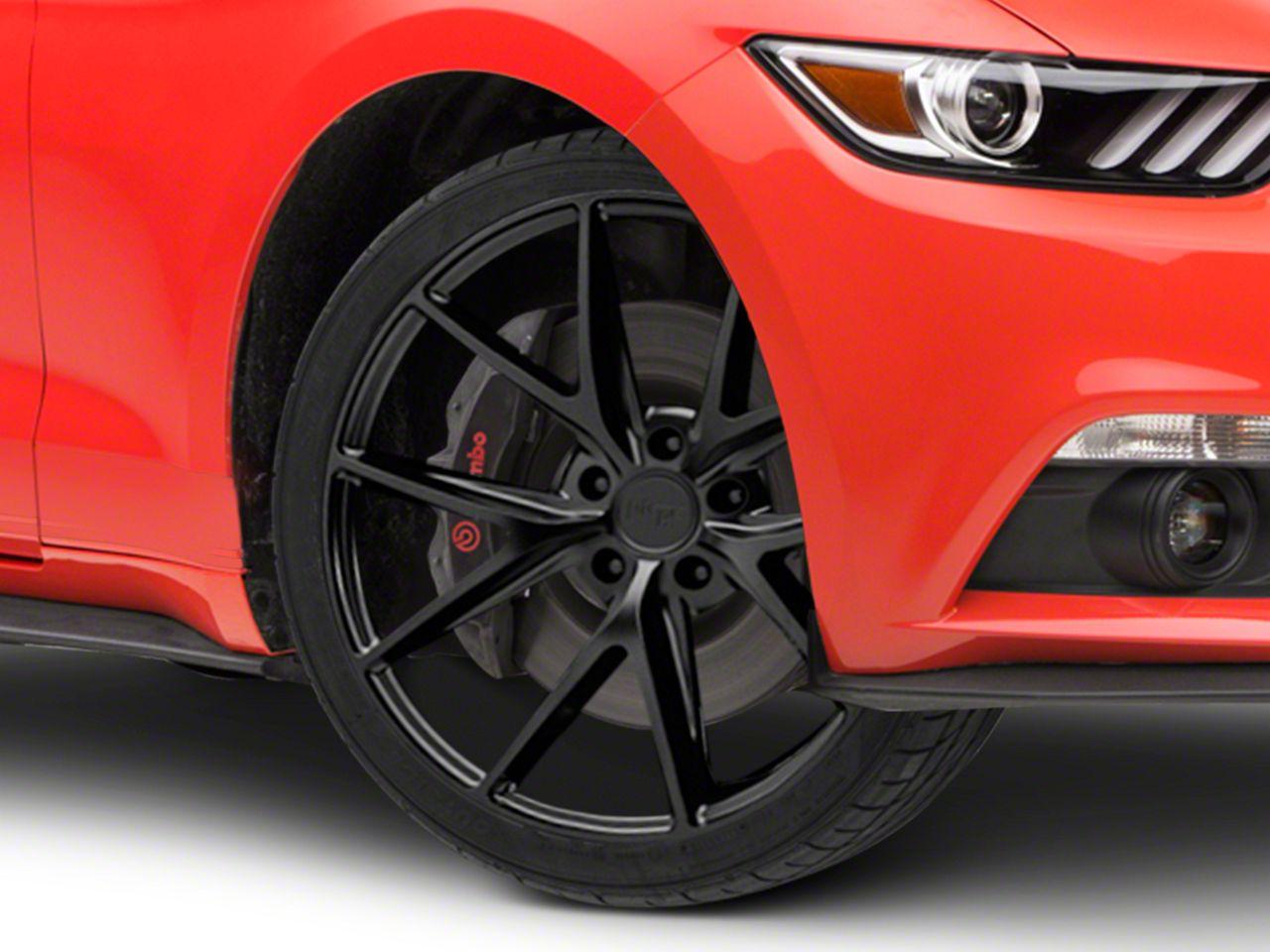 Niche Misano Matte Black Wheel - 19x8.5 (15-19 GT, EcoBoost, V6)