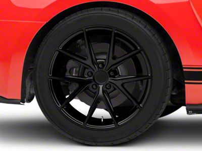 Niche Misano Matte Black Wheel - 19x9.5 - Rear Only (15-19 All)