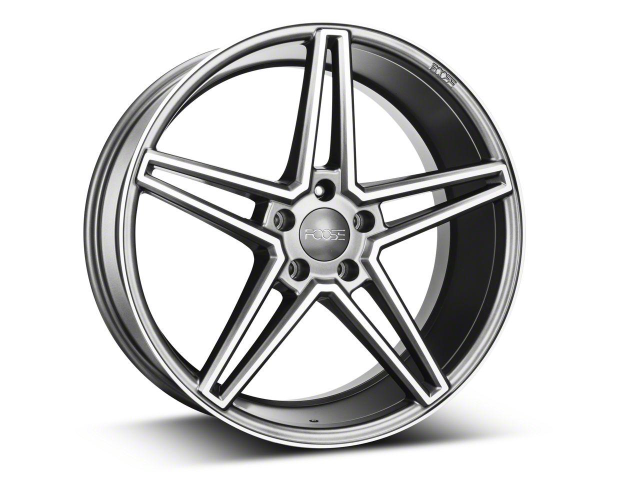 Foose Sport Charcoal Wheel - 20x9 (05-14 All)