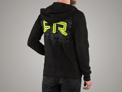 RTR Green Matrix Zip-Up Hoodie