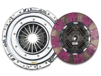 Exedy Grooved Mach 600 Stage 4 Clutch w/ Hydraulic Throwout Bearing (05-10 GT)