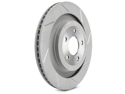 Steeda 13 in Slotted Rotors - Rear Pair (15-19 GT w/ Performance Pack)
