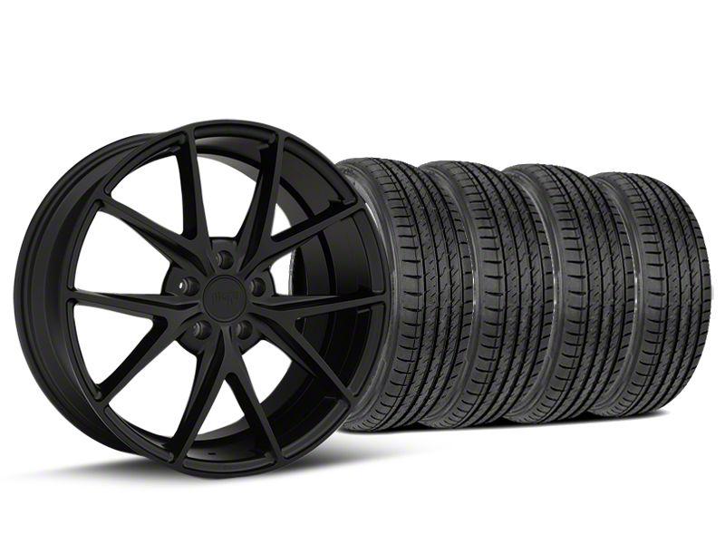 Niche Misano Matte Black Wheel & Sumitomo Tire Kit - 19x8.5 (15-19 All)