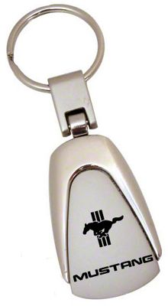 Teardrop Style Key Chain - Mustang