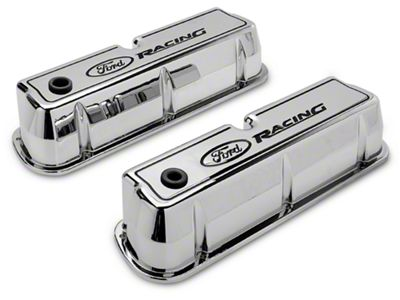 Ford Polished Valve Covers (79-95 V8)